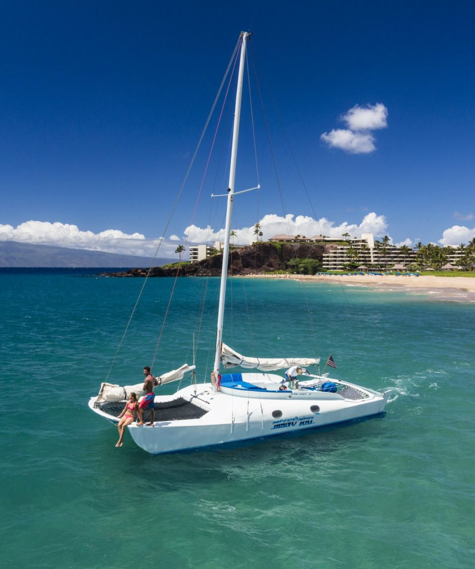 8-wyprawy-usa-hawaje-catamaran-ride-Kaanapali-Beach