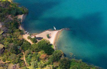 Aerial-view-lake-malawi-pumulani