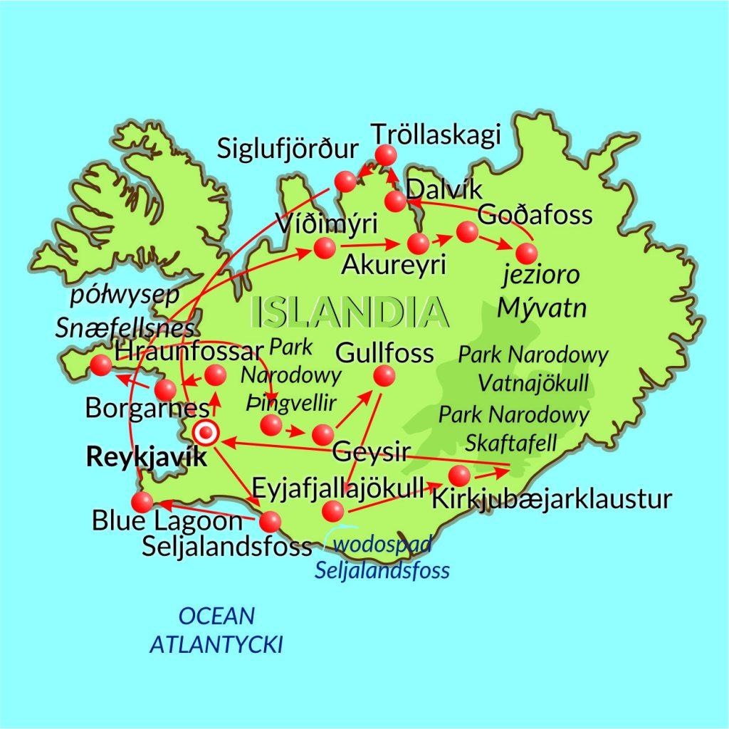 Islandia-15dni