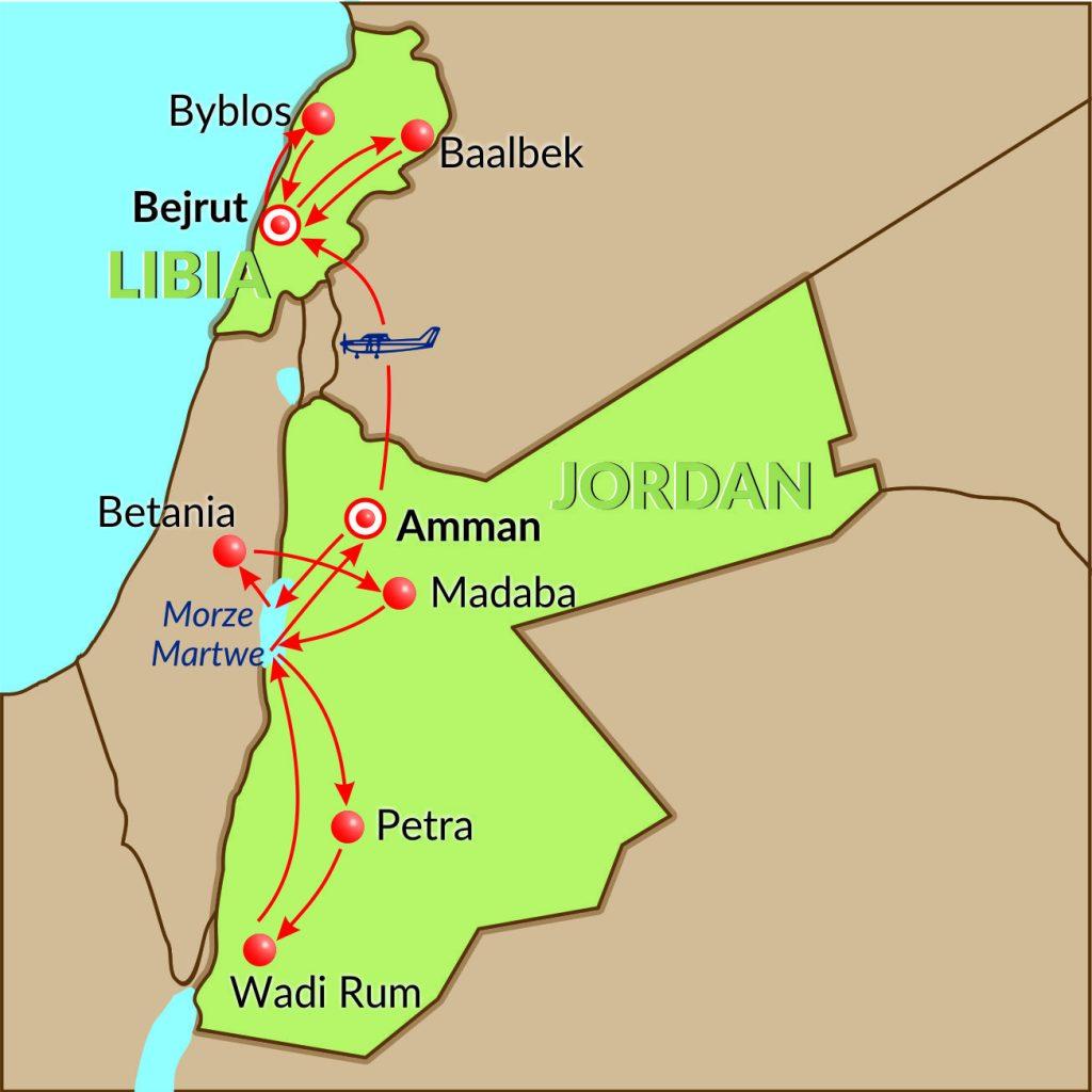 Jordan-Libia-9dni