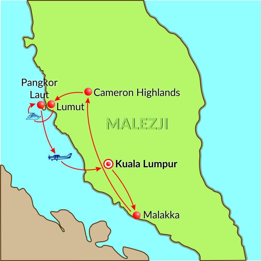 Malezji-9dni