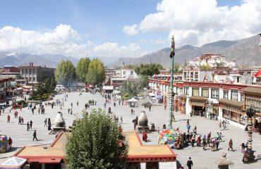 Plac-Potala-Tybet