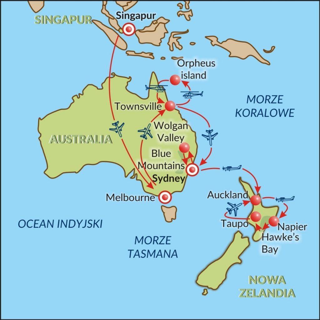 Singapur-Australia-Nowa Zelandia-24dni