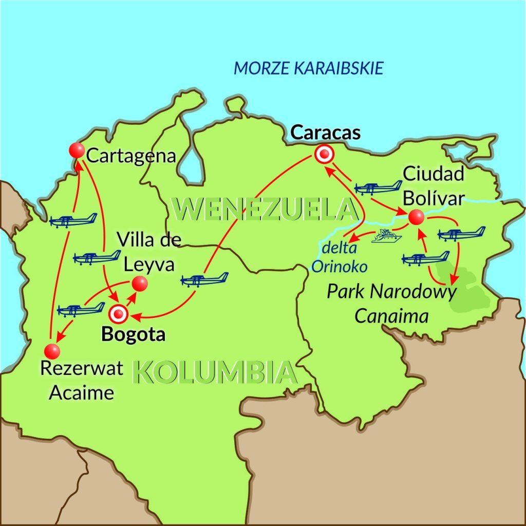 Wenezuela-Kolumbia-13dni