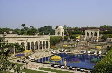 swimmming Pool Oberoi Amarvilas Agra India Luxury travel