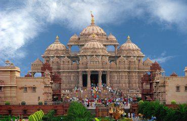wyprawy-Indie-Varanasi-i-Goa- Para_Akshardham temple