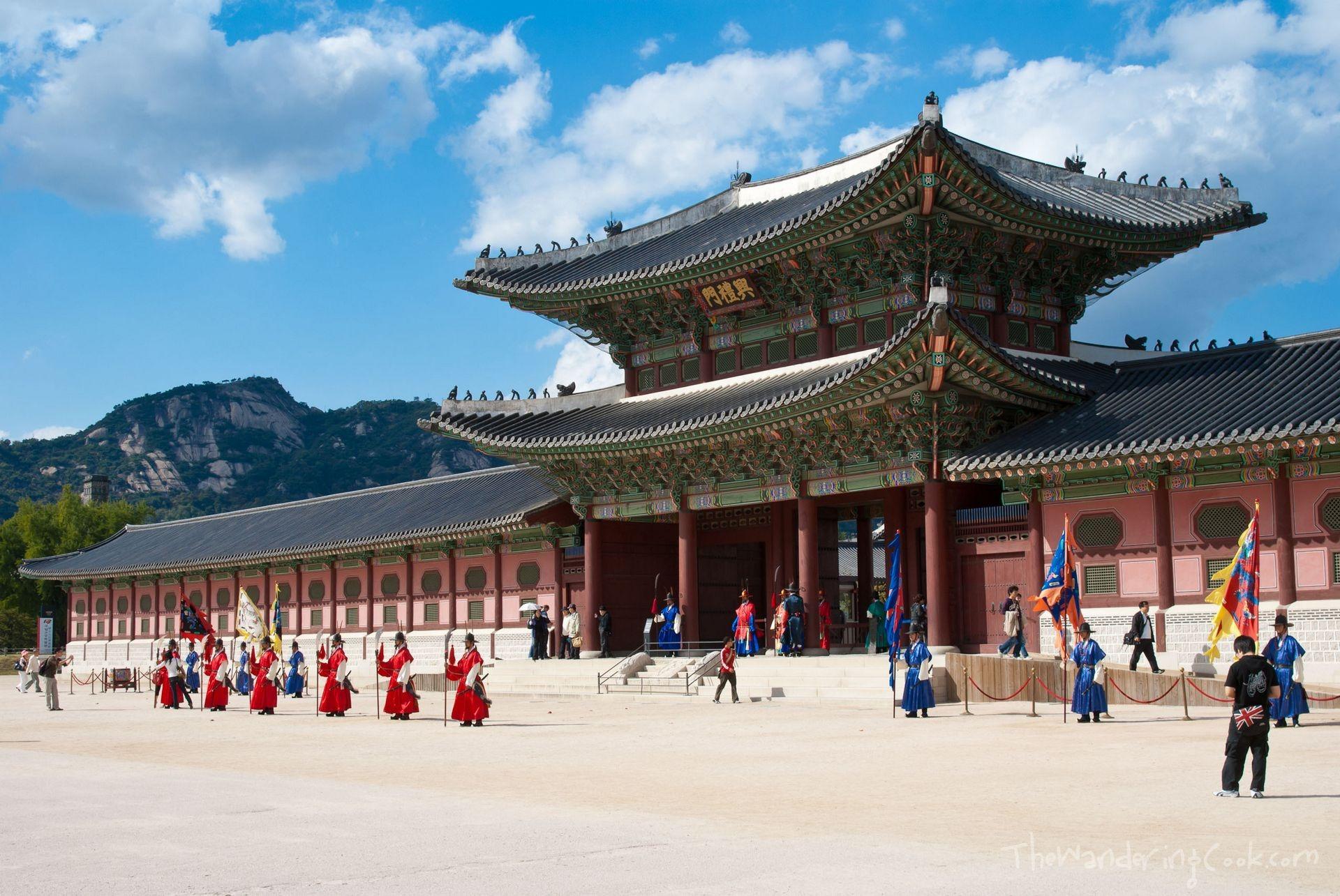 wyprawy-Korea-Pałac-królewski-Gyeongbokgung-1