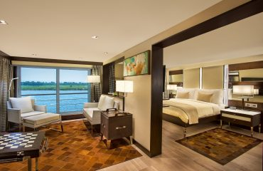 Deluxe Suite - The Oberoi Philae, Luxury Nile Cruiser