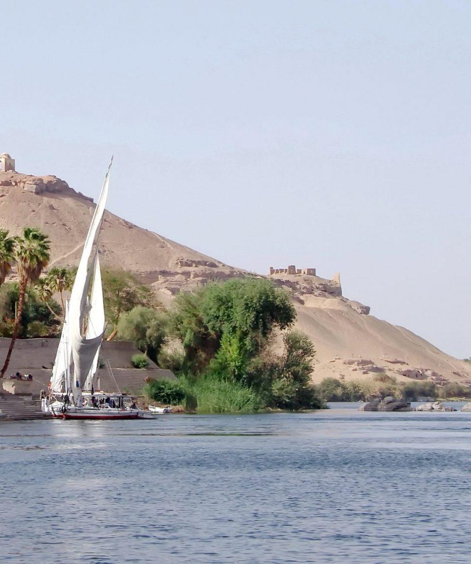 Auan Feluka na Nilu