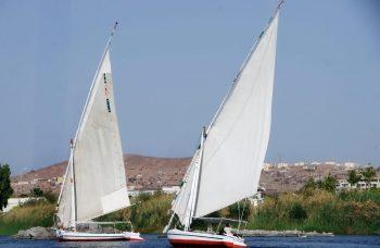 Nil w Asuanie