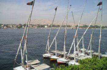 feluki na Nilu