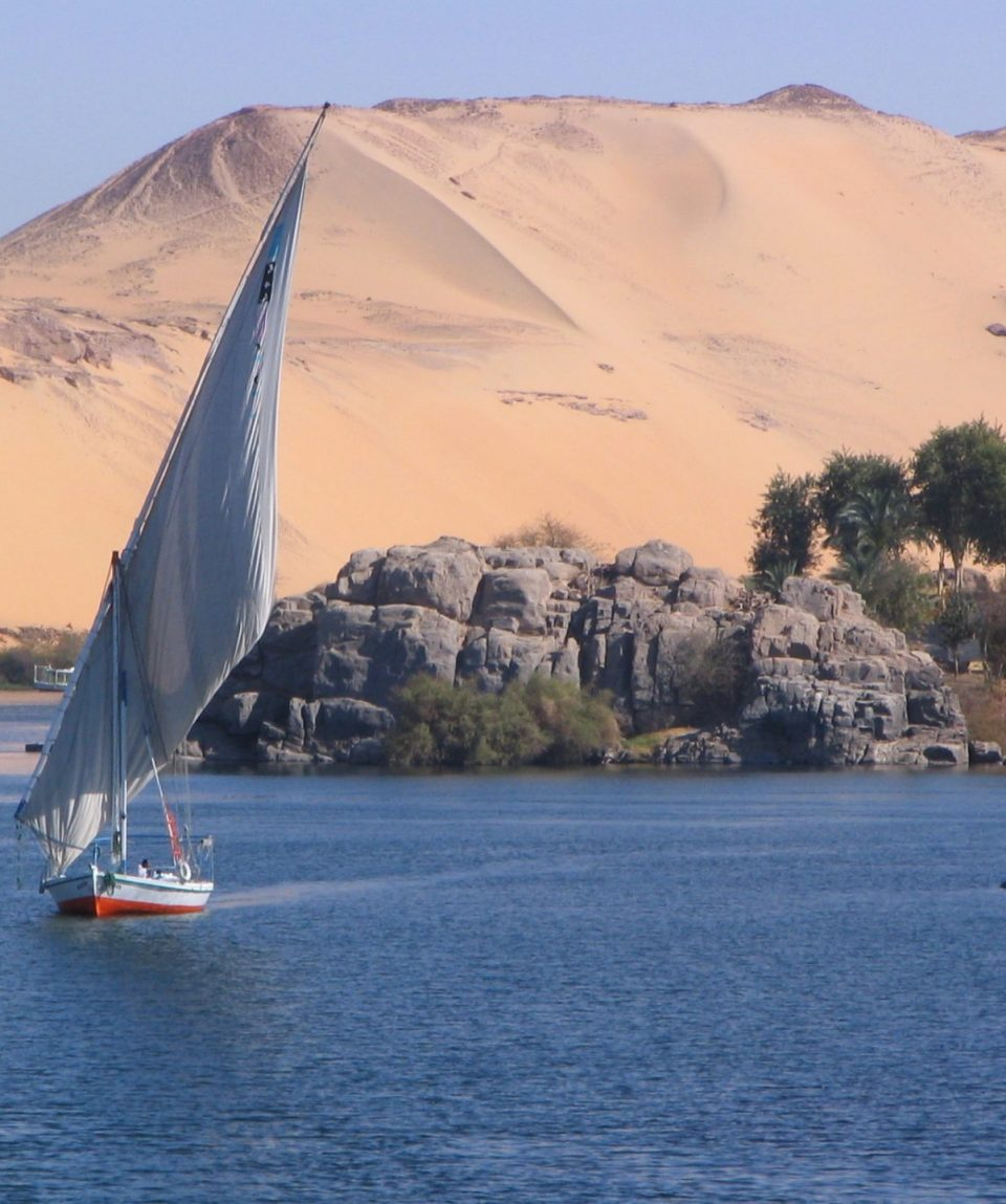 Felucca na Nilu