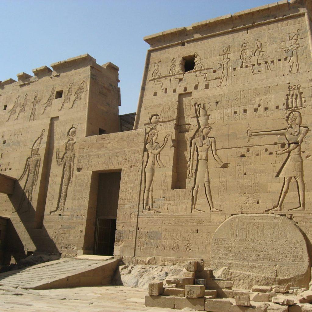 Świątynia Izydy, wyspa File, Egipt
