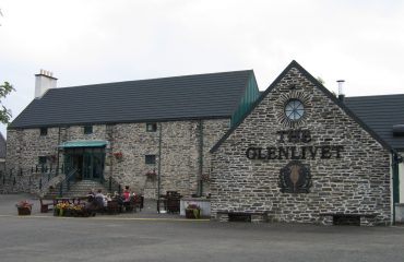 The Glenlivet distillery by Kkonstan CC BY Wikipedia Commons